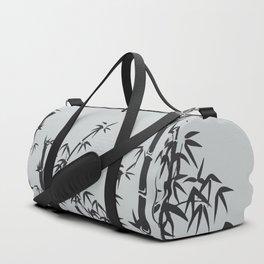 Bamboo black - grey Duffle Bag