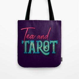 Kelly-Ann Maddox Collection :: Tea and Tarot (Simple) Tote Bag