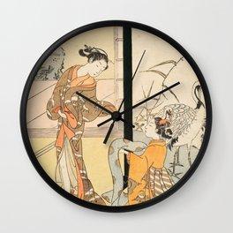 Kyoto Kimono Wall Clock
