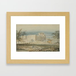 Joseph Mallord William Turner English 1775 - 1851 Hampton Court, Herefordshire, Seen from the Southe Framed Art Print