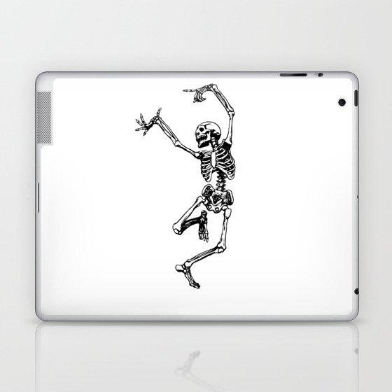 DANCING SKULL Laptop & iPad Skin