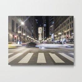 Street Blur Metal Print