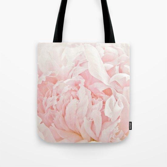 Peony Heart Tote Bag
