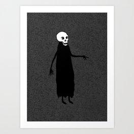 Skeleton Spirit Art Print