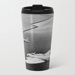 B-17F Flying Fortress Bombers over the Southwest Pacific Travel Mug