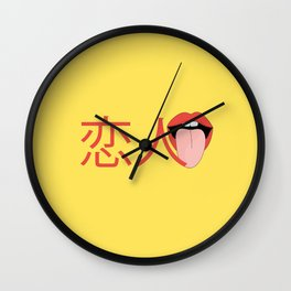 Lover Wall Clock