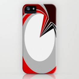 Colours in a circle iPhone Case