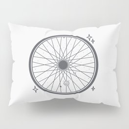 Bicycle rim with the solar system Pillow Sham