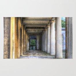 Kensal Green Cemetery  Colonnade Rug