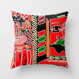 Big Up! Africa! Throw Pillow