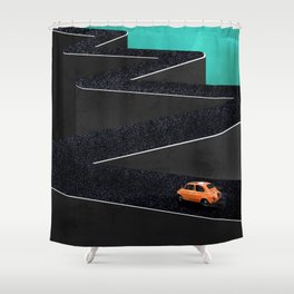 Flash Drive Shower Curtain