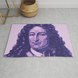 Gottfried Leibniz Rug