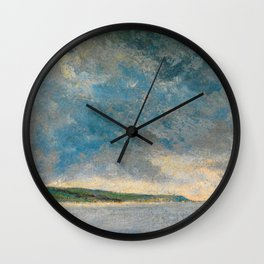 "John Constable ""Coastal Scene with Cliffs"" Wall Clock"