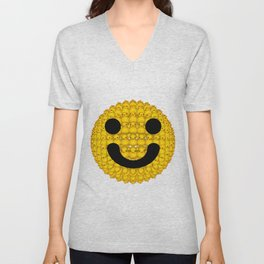 Smiley duckies Unisex V-Neck