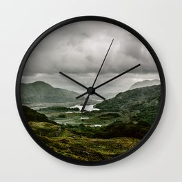 Ladies View Kerry Ireland Wall Clock