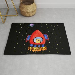 Impossible Astronaut Rug