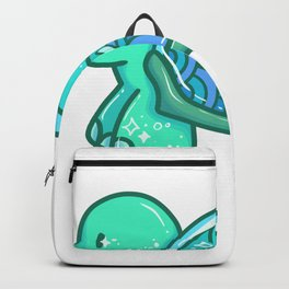 Turtle aquarium water plant kid gift Backpack