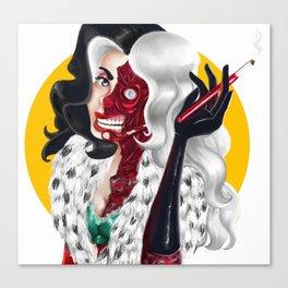 Two Face Deville Canvas Print