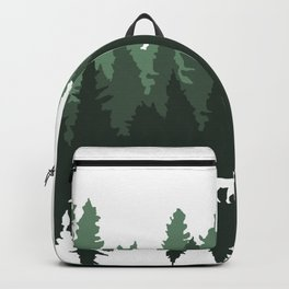 The Walk Through The Forest Backpack