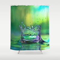 crown Shower Curtains featuring Kings Crown by ThePhotoGuyDarren