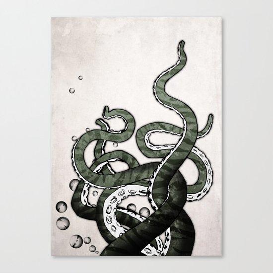 Octopus Tentacles Canvas Print
