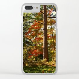 Forest Clear iPhone Case
