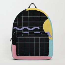 Memphis Pattern 7 - 80s - 90s - Retro Backpack
