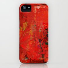 Red That Dwells In Me iPhone (5, 5s) Slim Case
