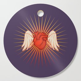 Flying Heart Cutting Board