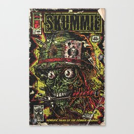 VietZombie Comic Canvas Print