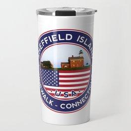 Sheffield Island, Norwalk, Connecticut sticker, t shirt, poster Travel Mug