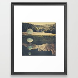 new world Framed Art Print