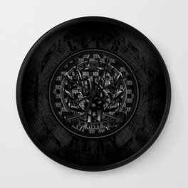 Devil's Right Hand Wall Clock