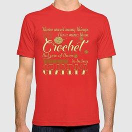 Crochet Grandma T-shirt