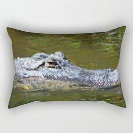 Wild Gator Rectangular Pillow
