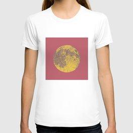 Chinese Mid-Autumn Festival Moon Cake Print T-shirt