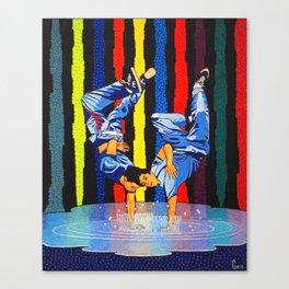 GARO - Twin dance Canvas Print