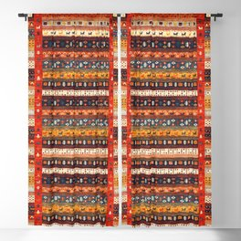 Autumn Oriental Boho Traditional Moroccan Style  Blackout Curtain