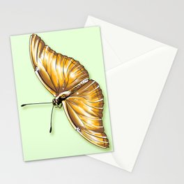 Papillon jaune Stationery Cards