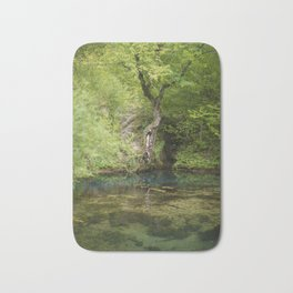 River spring in the forest Bath Mat