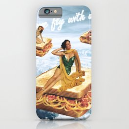 Sandwich Airlines - Come fly with us! iPhone Case