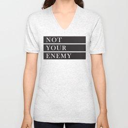 Not Your Enemy Unisex V-Neck
