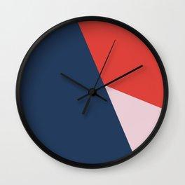 The Mountain Wall Clock