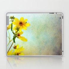 Yellow Flowers 1 Laptop & iPad Skin