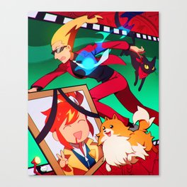 Phantom Detective Canvas Print