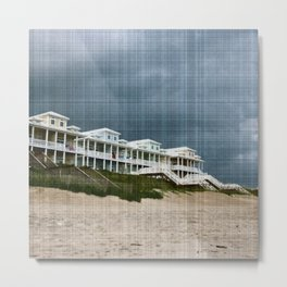Stormy Topsail Metal Print