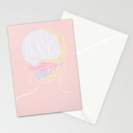 Blush Bun Stationery Cards