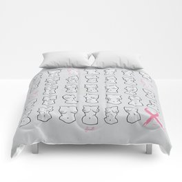 Breast Cancer Awareness Comforters