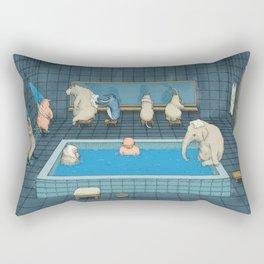 The Bathers Rectangular Pillow