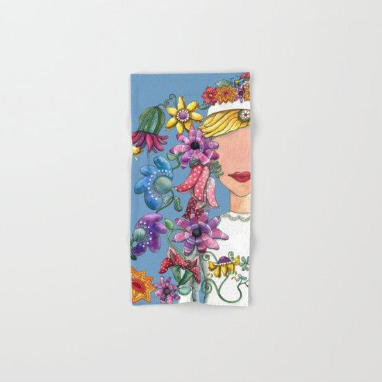 I Love The Flower Girl Hand & Bath Towel